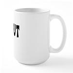 Out Female Large Mug