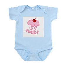 Sweet Cupcake Infant Creeper
