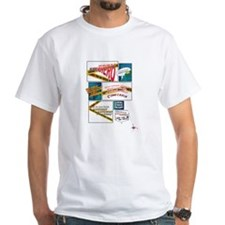 Comics White T-Shirt