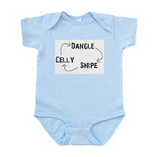 Dangle-Snipe-Celly Infant Bodysuit