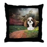 """Why God Made Dogs"" Shih Tzu Throw Pillow"