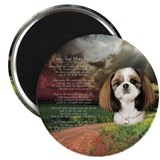 """Why God Made Dogs"" Shih Tzu 2.25"" Magnet (10 pack"