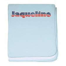 American Jaqueline baby blanket