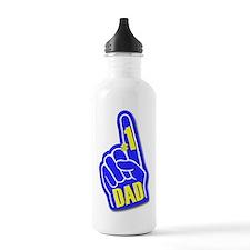 #1 Dad Sports Water Bottle