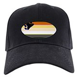 BEAR PRIDE FLAG HORIZONTAL Baseball Hat
