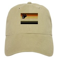 BEAR PRIDE FLAG HORIZONTAL Baseball Cap