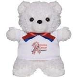 Uterine Cancer Awareness Teddy Bear