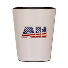 American Ali Shot Glass