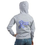 Stomach Cancer Awareness Zip Hoodie