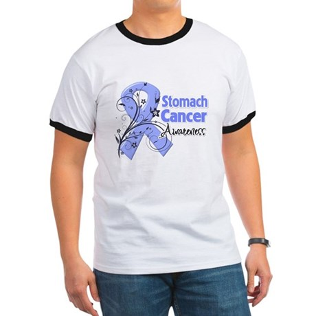 Stomach Cancer Awareness Ringer T