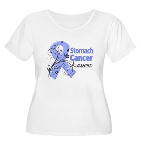 Stomach Cancer Awareness Women's Plus Size Scoop N