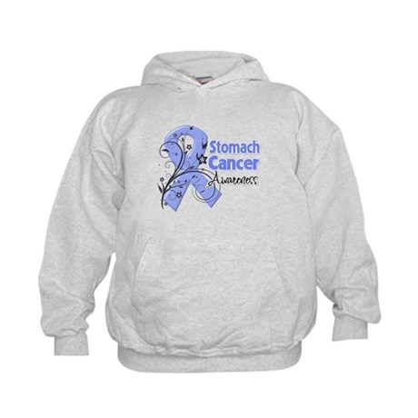 Stomach Cancer Awareness Kids Hoodie