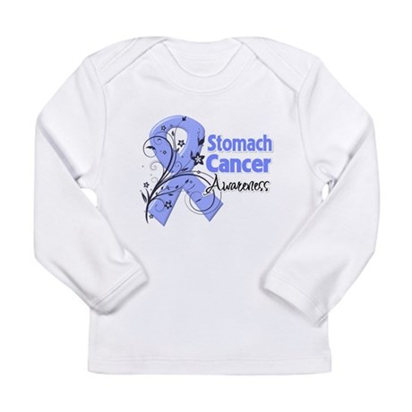 Stomach Cancer Awareness Long Sleeve Infant T-Shir