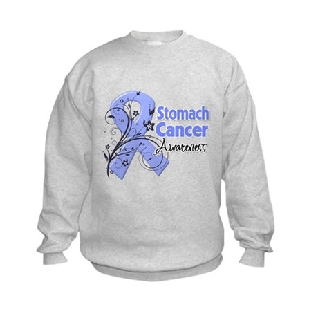 Stomach Cancer Awareness Kids Sweatshirt