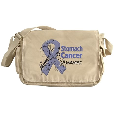 Stomach Cancer Awareness Messenger Bag