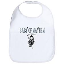 Blue Baby of Mayhem Bib