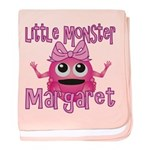 Little Monster Margaret baby blanket