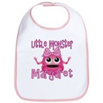 Little Monster Margaret Bib