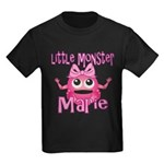 Little Monster Marie Kids Dark T-Shirt