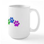 Rainbow Paws Large Mug