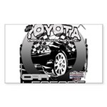 Toyota Sticker (Rectangle 50 pk)