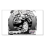 Toyota Sticker (Rectangle 10 pk)
