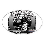 Toyota Sticker (Oval 50 pk)