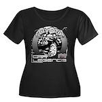 Toyota Women's Plus Size Scoop Neck Dark T-Shirt