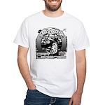 Toyota White T-Shirt