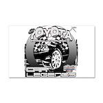 Toyota Car Magnet 20 x 12
