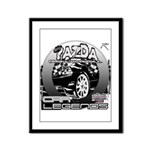 Mazda Framed Panel Print