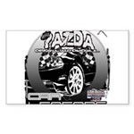 Mazda Sticker (Rectangle 50 pk)