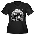 Mazda Women's Plus Size V-Neck Dark T-Shirt