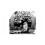 Mazda 38.5 x 24.5 Wall Peel