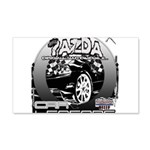 Mazda 22x14 Wall Peel