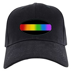 Rainbow Black Cap