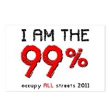 I am the 99% Postcards (Package of 8)