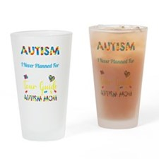 Knock Out Cancer Drinking Glass