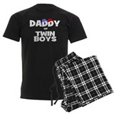 Daddy of twin boys pajamas