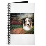 """Why God Made Dogs"" Australian Shepherd Journal"