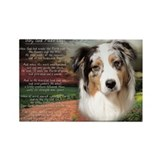 """Why God Made Dogs"" Australian Shepherd Rectangle"
