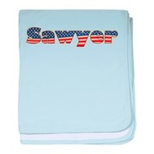 American Sawyer baby blanket