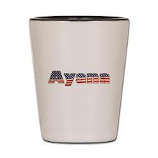 American Ayana Shot Glass