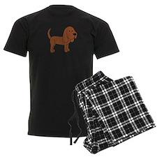 Cute Bloodhound Pajamas