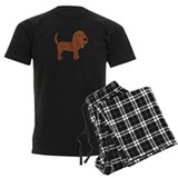 Cute Bloodhound  Pyjamas