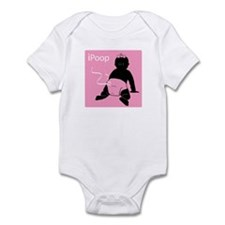 Cute Ipoop Infant Bodysuit
