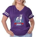 P S W SUPPORT Long Sleeve Dark T-Shirt