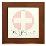 Sonographer Framed Tile