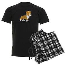 Cute Collie Pajamas