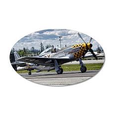 P-51 22x14 Oval Wall Peel